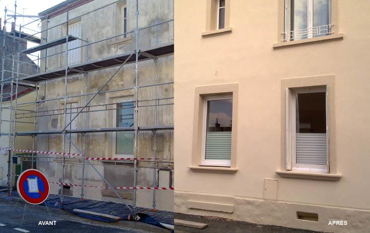 ravalement facade 77